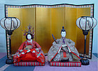 Large Antique Japanese Hina Dolls, The Imperial Dolls