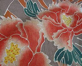 Colorful Tsutsugaki in Farmer's Cotton Fukusa