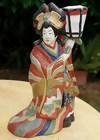 Japanese Clay Doll, Beautiful Oiran Geisha
