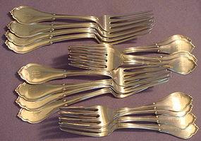San Francisco �Gothic� / �Eureka� Sterling Forks (17)