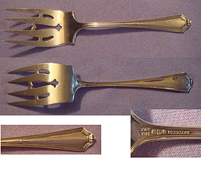GORHAM 'PLYMOUTH' SMALL SERVING FORK