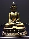 15th - 16th Century Tibetan Bronze Buddha