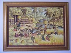 A Very Large and Fine Indonesian Original Painting