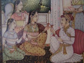 A Superb Indian Miniature Painting