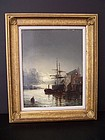 A Fine 19th Cent Oil Painting, William Anslow Thornley