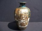 A Very Fine Kinkozan Satsuma Vase, Meiji Period (1868-1912)