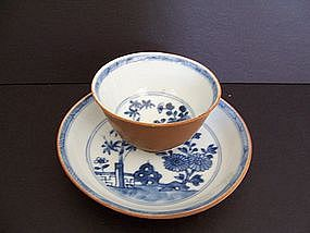 Nanking Cargo Teacup and Saucer  1752,  ex  Christie's
