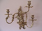A Fine Dore Bronze Sconce, Late 19th-Early 20th Century