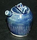 Blue monochrome water dropper, Qianlong (1736 - 1795)