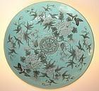 Large Plate, Tongzhi ( 1862 - 1874 )