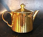 Gold luster Royal Worcester teapot