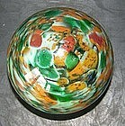 Paperweight in glass, around 1850