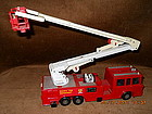 MATCHBOX SUPER KINGS SIMON SNORKEL FIRE TRUCK