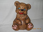 UNMARKED DE FOREST CALIFORNIA BEAR COOKIE JAR