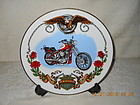 HARLEY DAVIDSON 1990 COLLECTOR PLATE - GERMANY