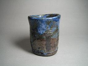 Ao-shino Yunomi by Suzuki Goro