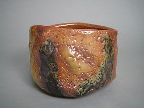Shino Chawan by Suzuki Tomio (h)