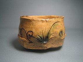Ki-seto Chawan by Suzuki Goro (2243)