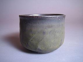 Tetsu-yu Tanka Chawan by Yamaguchi Takeshi (108)