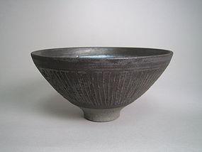 Tenmoku Chawan by Unokawa Kazumasa