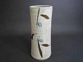 Mashiko Vase by Akashi Shosaku