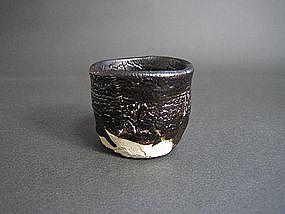 Black Seto Guinomi by Suzuki Goro