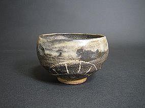Vintage Japanese Shino Nodate Chawan