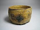 Ki-seto Chawan by Suzuki Goro
