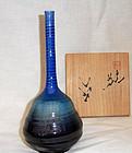 Kutani vase by Tokuda Yasokichi III