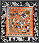 Fine silk textile. Qing, 19th cent.