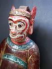 Large wood image of Deified Monkey King/Sunwu Kong