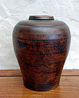 Meiping shape vase of boxwood (huangyangmu ping)