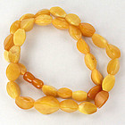 Vintage, Art Deco, natural, Baltic amber MILA, 38 grams