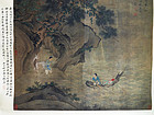 Large impressive painting with Immortals. Attribute to Zhu Yangchang