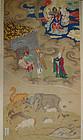 A Shuilu Buddhist painting; Bodhisattva Ksitigarbha (Dizang). 17th c
