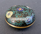 Cloisonne incense container - kogo