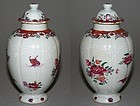 Chinese Export Famille Rose Tea Caddy, c. 1765