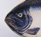 Ko Imari Carp Shaped Dish Genroku c.1700 No 2