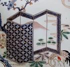 Ko Imari Cranes and Screen Dish c.1740-60 No 1