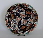 Fine Imari Large Fan and Swirl Dish c.1720