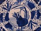 Arita Ko Imari Kraak Style Dish c.1830