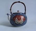 Fine Daishoji Imari Teapot with Yongzheng mark Meji