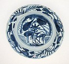 Late Ming Kraak Deer Plate No. 1 - c. 1580-1600