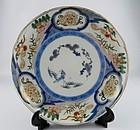 Ko Imari Shochikubai and Karashishi Plate c.1740 No 1