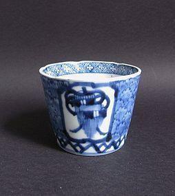 Ko Imari Takaramono Soba Choko c.1760-80