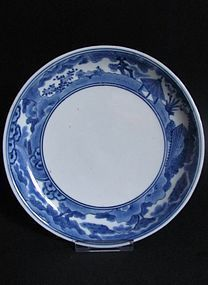 Arita Go Players Dish c.1680 No 1