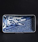 Ko Imari Landscape and Octopus Scroll Nagazara c.1750 No 1