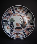 Rare Ko Imari Namban Kraak Style Dishes c.1700