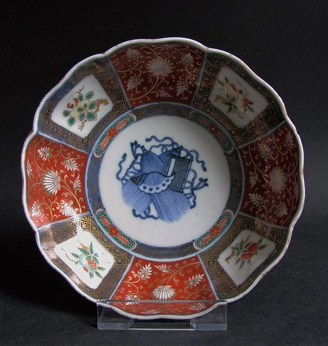 Imari Precious objects Bowl Meji 19C