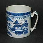 Chinese Export Canton Cup or Mug - 19th C.